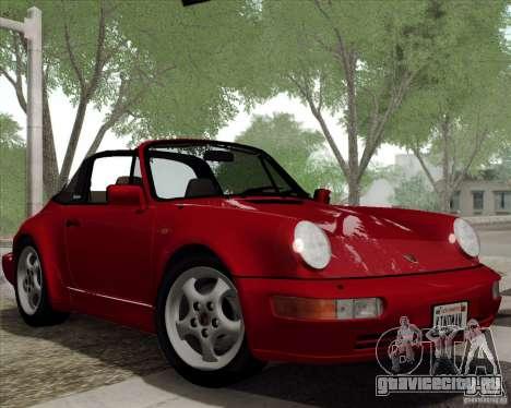 Porsche 911 Carrera 4 Targa (964) 1989 для GTA San Andreas вид сбоку