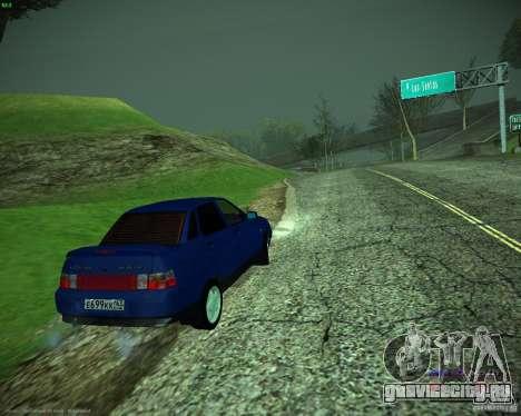 ВАЗ 21103 для GTA San Andreas вид сзади слева