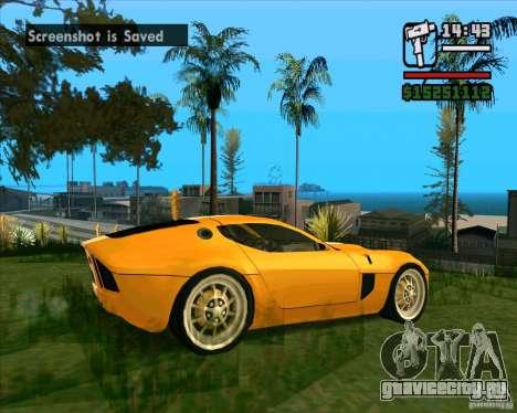 Shelby GR-1 для GTA San Andreas вид справа