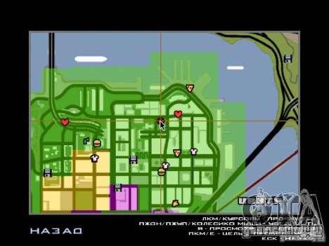Вилла в Сан-Фиерро для GTA San Andreas одинадцатый скриншот