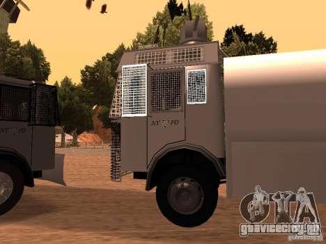 Полицейский водомет Rosenbauer v2 для GTA San Andreas вид слева