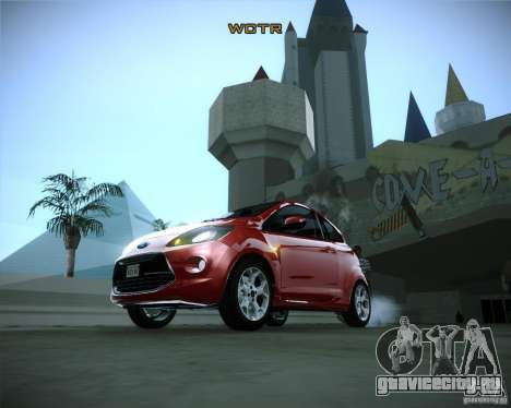 Ford Ka 2011 для GTA San Andreas вид сзади