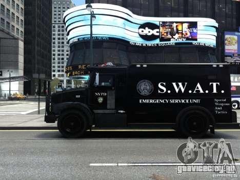 SWAT - NYPD Enforcer V1.1 для GTA 4 вид слева