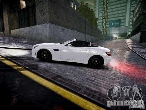 Mercedes SLK 2012 для GTA 4 вид слева