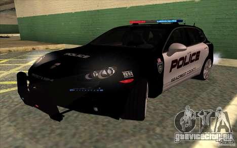 Porsche Cayenne Turbo 958 Seacrest Police для GTA San Andreas