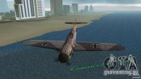 WW2 War Bomber для GTA Vice City вид сбоку