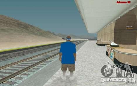 Новые скины для банды Varios Los Aztecas для GTA San Andreas шестой скриншот