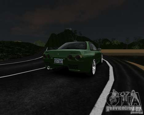 Nissan Skyline R32 GTS-t Veilside для GTA 4 вид сзади