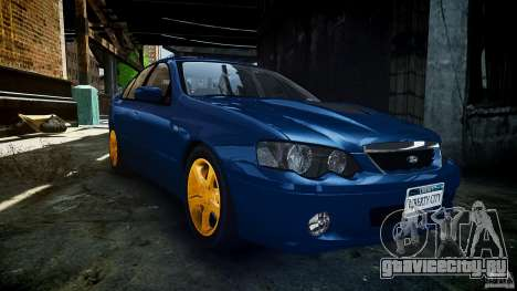 Ford Falcon XR8 2007 Rim 2 для GTA 4