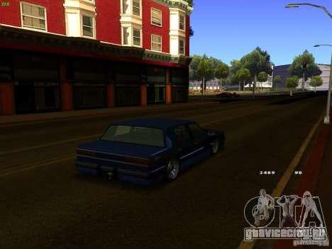 Willard Drift Style для GTA San Andreas вид сзади слева