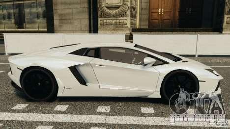 Lamborghini Aventador LP700-4 2012 для GTA 4 вид слева