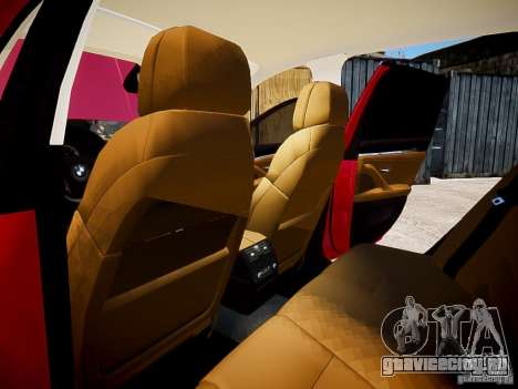 BMW 525i Touring для GTA 4 вид изнутри