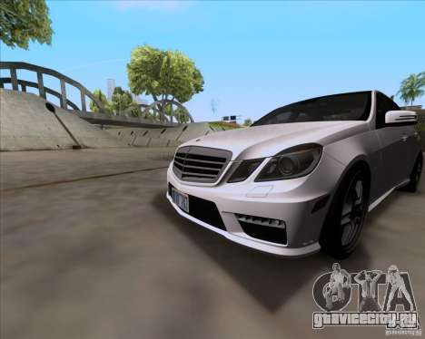 Mercedes-Benz E63 AMG V12 TT Black Revel для GTA San Andreas