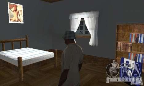 Новые интерьеры безопасных домов для GTA San Andreas седьмой скриншот