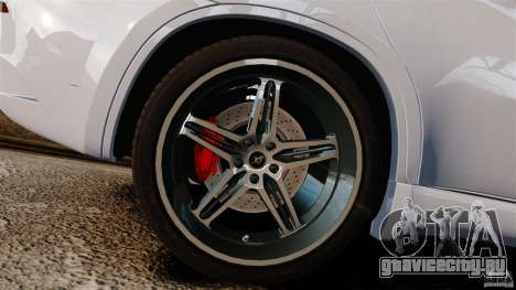 BMW X6 Hamann Evo22 no Carbon для GTA 4 вид изнутри