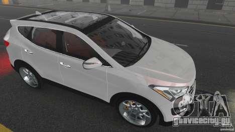 Hyundai Santa Fe Sport 2013 для GTA 4 вид снизу
