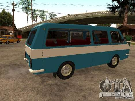 РАФ 2912 для GTA San Andreas вид справа