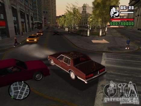 Chevrolet Caprice Classic 87 для GTA San Andreas вид сзади слева