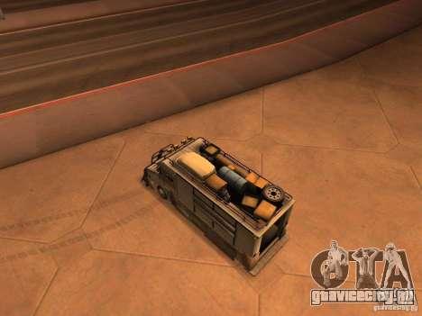 Monster Van для GTA San Andreas вид сзади слева