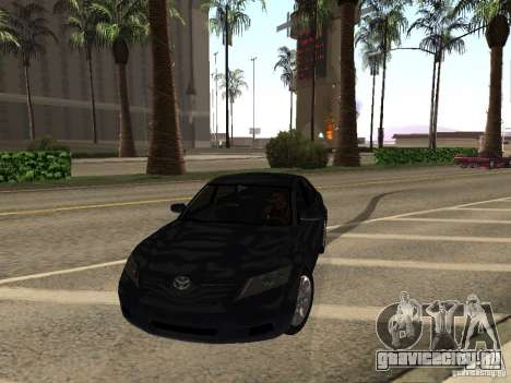 Toyota Camry 2010 для GTA San Andreas вид сзади