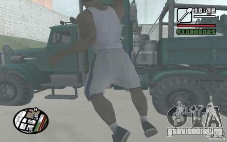 Метание лопаты для GTA San Andreas четвёртый скриншот