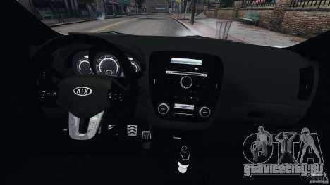 Kia Ceed 2011 для GTA 4 вид сзади