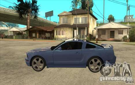 Ford Mustang 2005 для GTA San Andreas вид слева