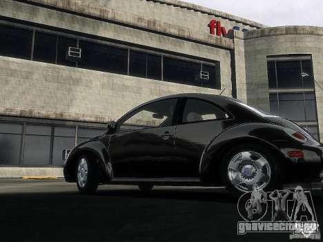 Volkswagen Beetle для GTA 4 вид сзади слева