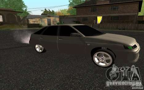 ВАЗ 2112 для GTA San Andreas вид слева