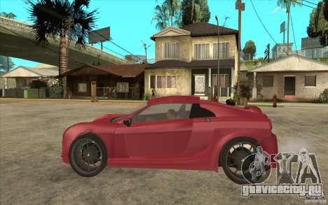 Mastretta MXT для GTA San Andreas вид слева