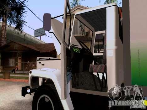 ГАЗ 3309 для GTA San Andreas вид сзади
