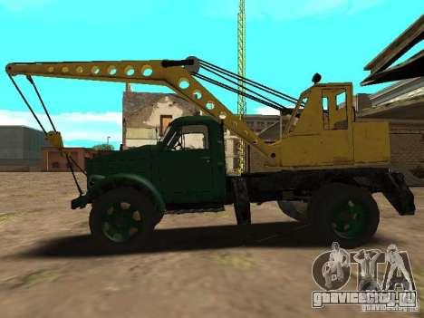 ГАЗ 51 Автокран для GTA San Andreas вид слева
