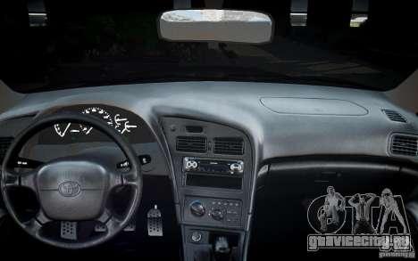 Toyota Celica GT-FOUR для GTA 4 вид снизу