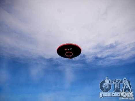 НЛО -  страшная вещь для GTA 4 вид сзади слева