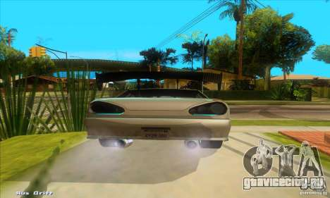 Elegy for the clan GSD для GTA San Andreas вид сзади слева