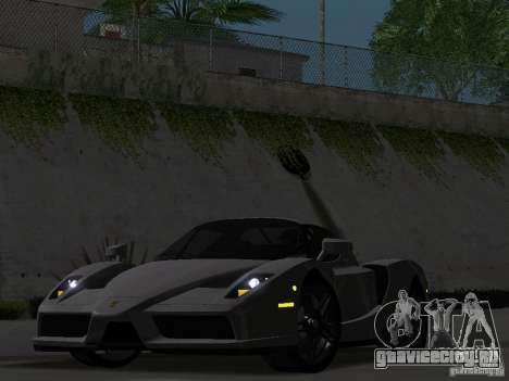 Ferrari Enzo Novitec V1 для GTA San Andreas вид сзади