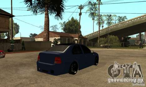 Volkswagen Bora для GTA San Andreas вид справа