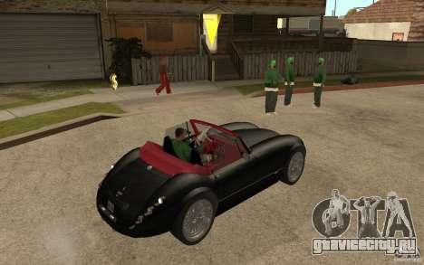 Wiesmann Roadster MF3 для GTA San Andreas