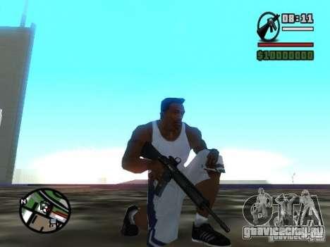 Gangster Weapon Pack для GTA San Andreas