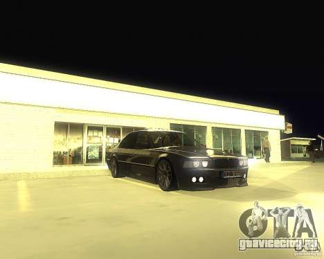 BMW 740i Update для GTA San Andreas
