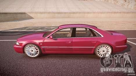 Audi A8 6.0 W12 Quattro (D2) 2002 для GTA 4 вид слева