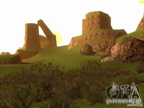 Without the desert для GTA San Andreas третий скриншот
