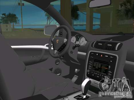 Porsche Cayenne Turbo S для GTA Vice City вид сбоку