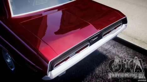 Dodge Challenger 1971 для GTA 4 вид сзади