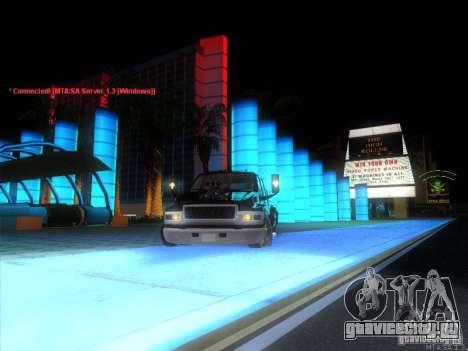 GMC C4500 Pickup DUB Style для GTA San Andreas вид сверху