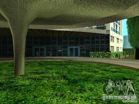 Новые текстуры для отеля V-Rock для GTA San Andreas пятый скриншот