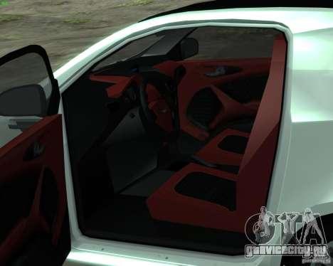 Aston Martin Cygnet для GTA San Andreas вид справа