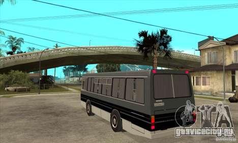 ЛАЗ 4202 для GTA San Andreas вид сзади слева