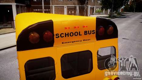 School Bus [Beta] для GTA 4 колёса