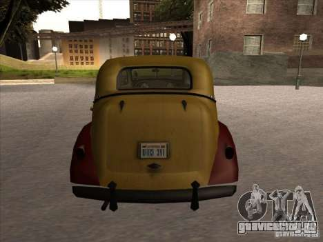 Shubert TAXI из MAFIA 2 для GTA San Andreas вид справа